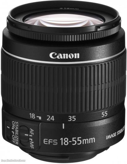 3425-Lente Canon EF-S 18-55mm f/3.5-5.6