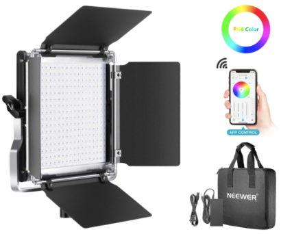 Paneles LED Neewer RGB
